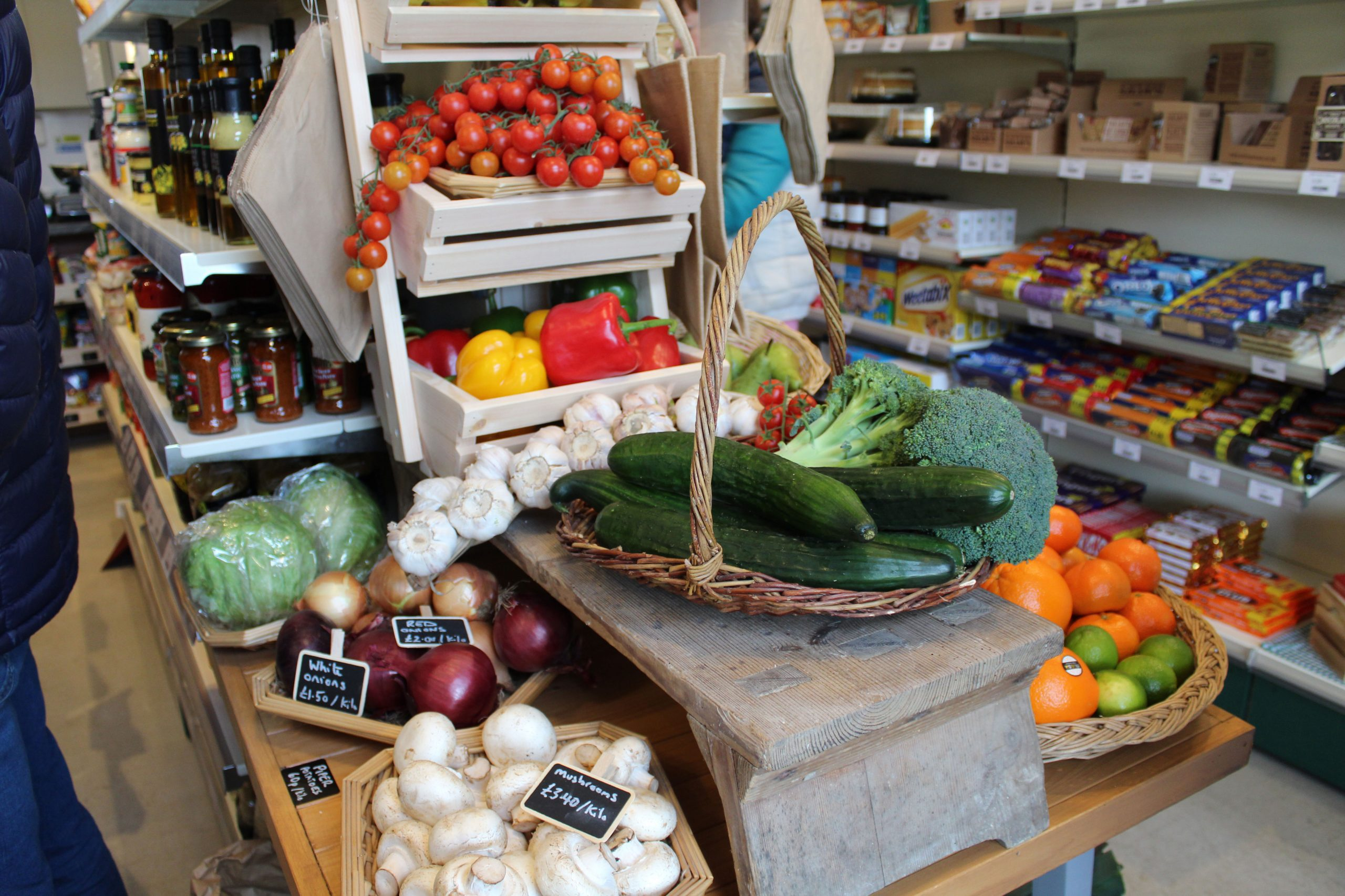 We have lots of fresh produce