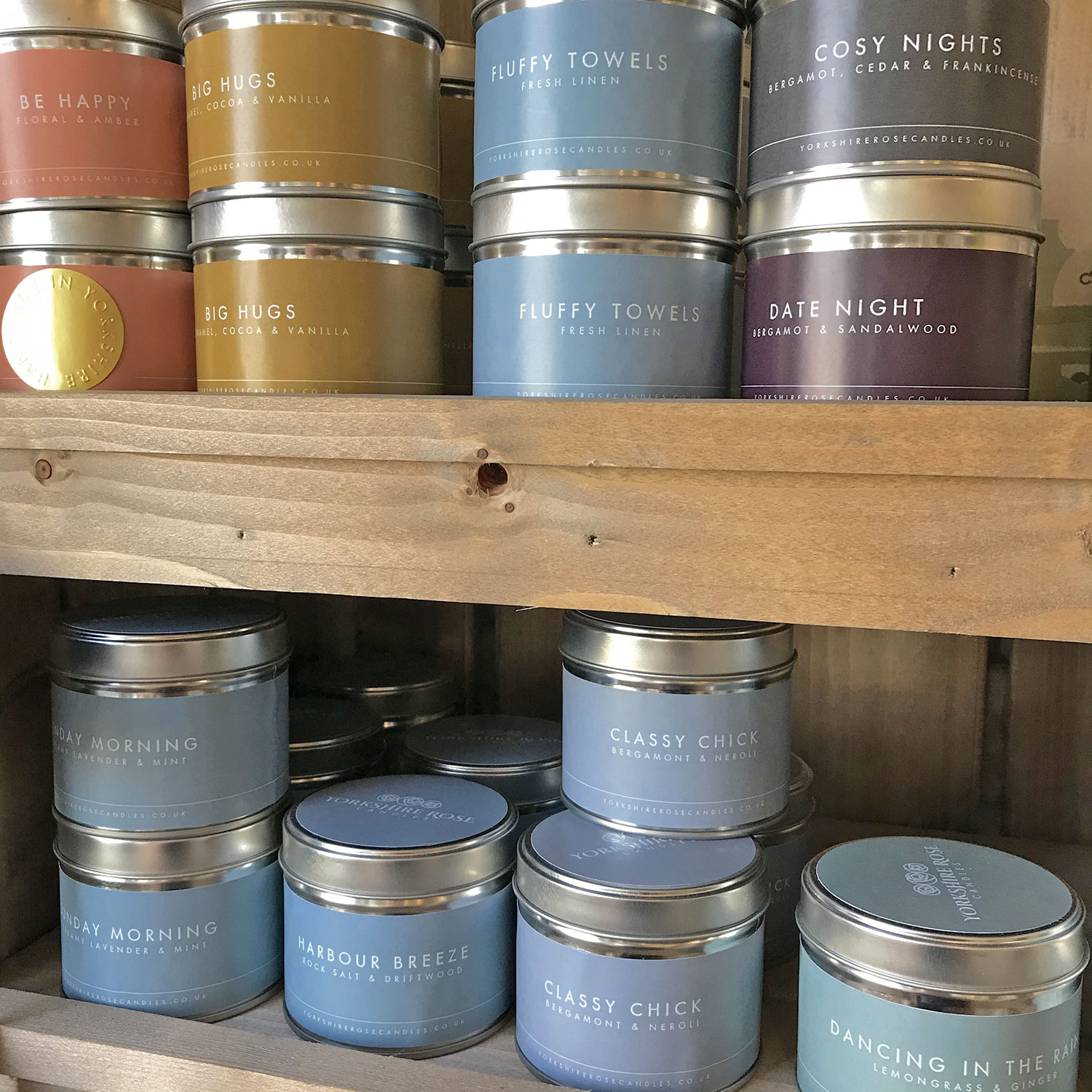 These locally made candles make the perfect gift.